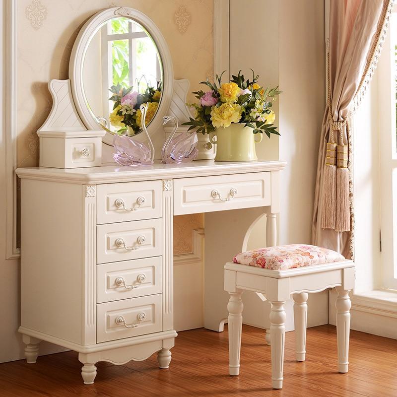 Fina de corea muebles de dormitorio tocador tocador de - Tocador madera nina ...