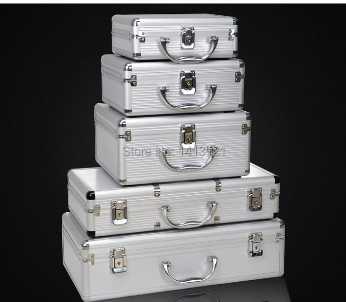 free shipping 290*230*140mm storage air box toolbox instrument case medicine equipment toolcase Cosmetic Box packaging suitcase
