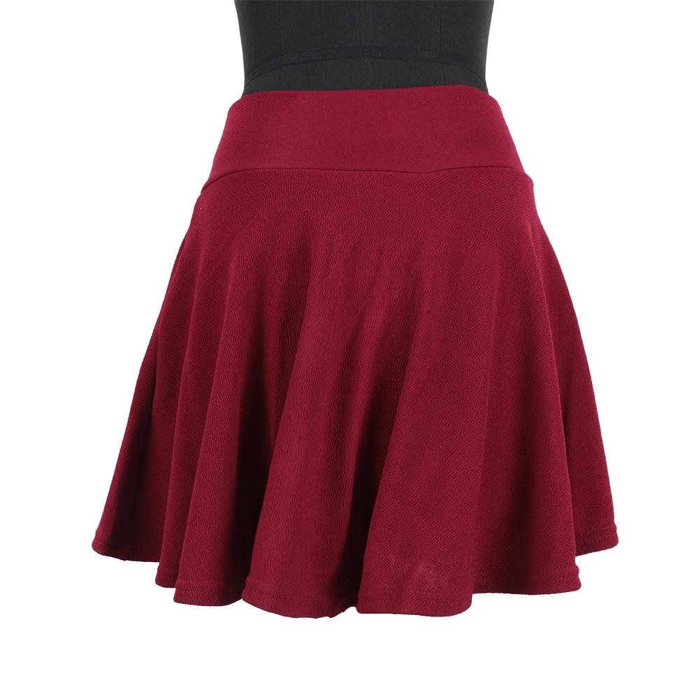 Fashion Sexy Energetic Flexible Mini Short Pleated Skirt -3041