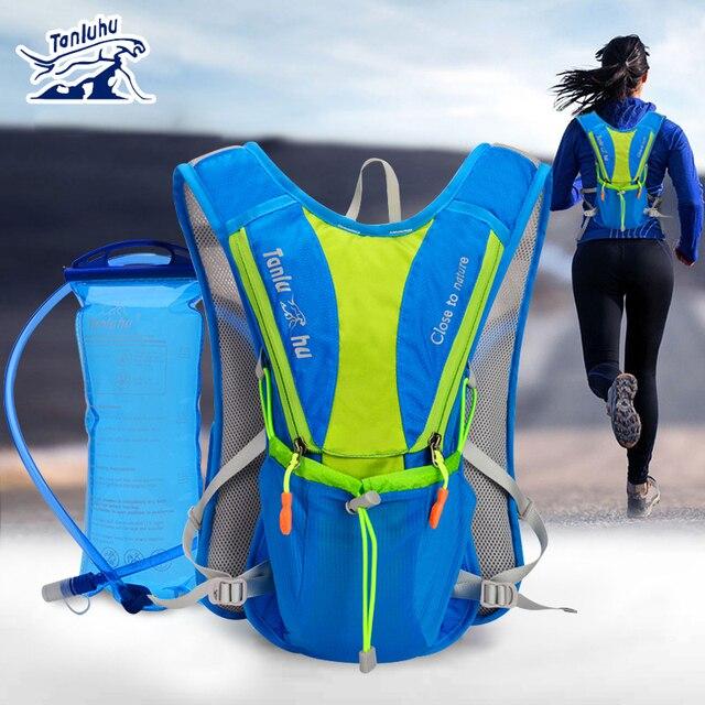 TANLUHU 675 Сверхлегкий Открытый марафон для бега велосипеда альпинизма гидратации рюкзак пакет жилет сумка для 2L воды мочевого пузыря бутылки