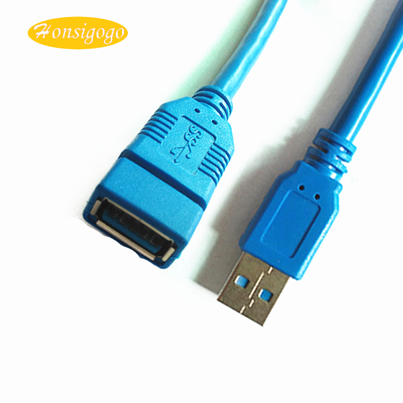 Honsigogo USB3.0 Extension Cable USB Cable Male to Female Data Sync Extender Cord Extens ...