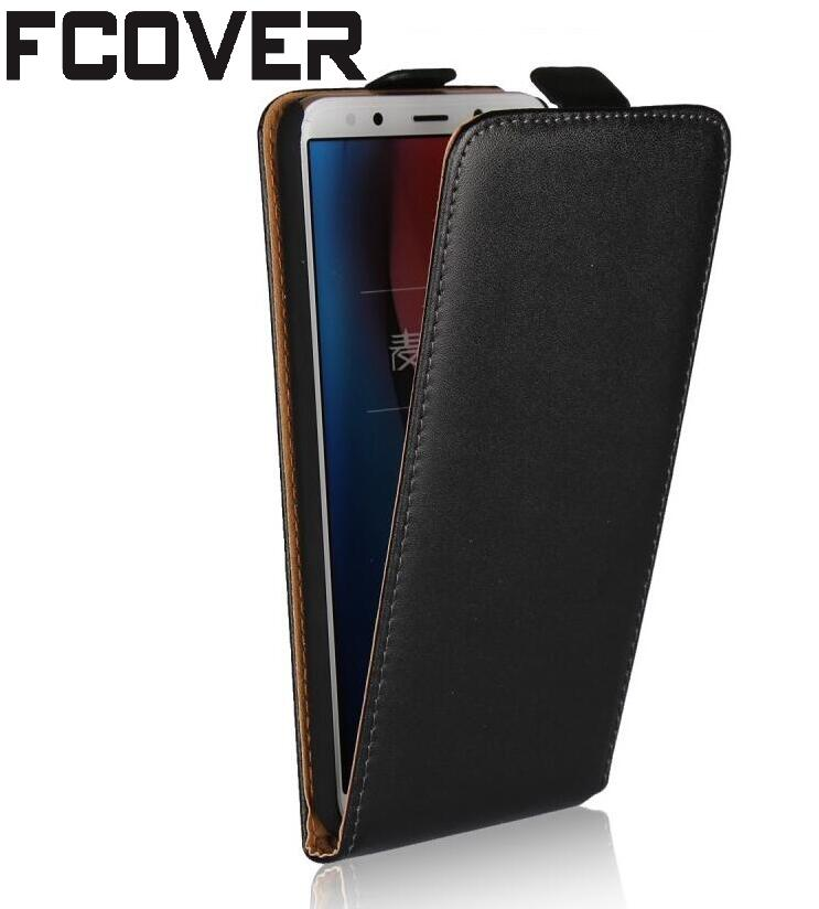 Flip Cover For Huawei Mate 10 Lite/nova 2i/Honor 9i Flip Case Pouch Genuine Leather Case
