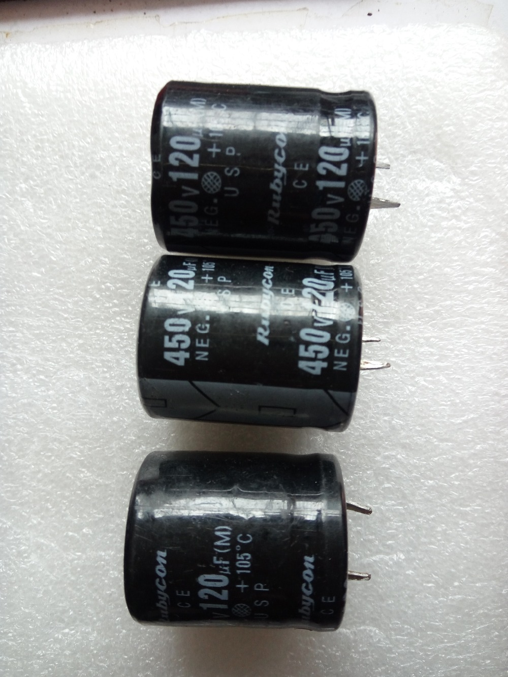 120UF 450V Aluminum electrolytic capacitor 25X30 Volume 25*30MM 25*25 105 degrees image