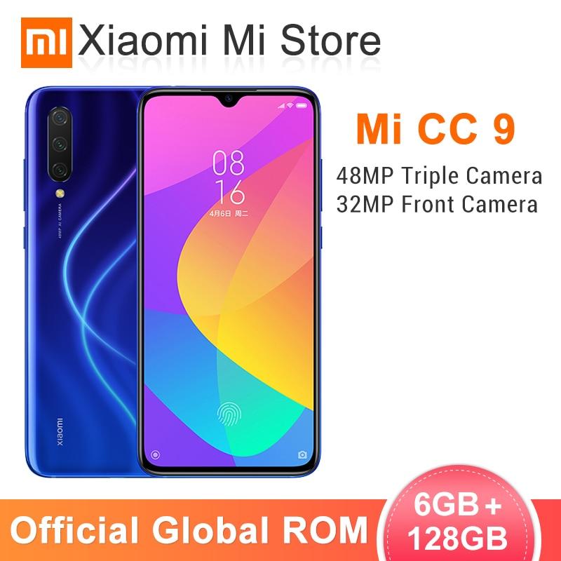 En Stock dans le monde entier ROM Xiao mi CC9 CC 9 6 GB 128 GB téléphone Mobile Snapdragon 710 6.39 48MP AI Triple caméras 32MP caméra frontale NFC