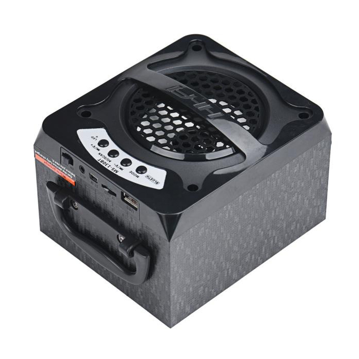Christmas gift Outdoor Bluetooth Wireless Portable Speaker Super Bass with USB/TF/AUX/FM Radio