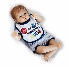 22 дюймов возрождается художника шедевр силикона reborn Baby Doll игрушки, реалистичные lol кукла для новорожденных мальчиков сном куклы лучший день рождения подарки