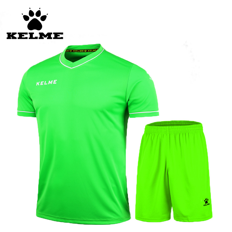 KELME 2016 Summer Club Soccer Jerseys Sport Sets Football Boys Team Uniforms Training Su ...