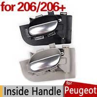 for Peugeot 206 Inside Door Handle Accessories 206SW 206CC 206+ Original Replacement Parts Car Styling