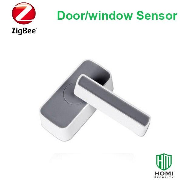 Zigbee Door Window Magnetic Contact  Wireless Home Smart Door Window Open Alarm Detector