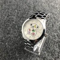 2019 TOUS pulsera часы для женщин кварцевые повседневное часы Reloj часы-браслет женские кварцевые часы кожа модные спортивные tous joyas