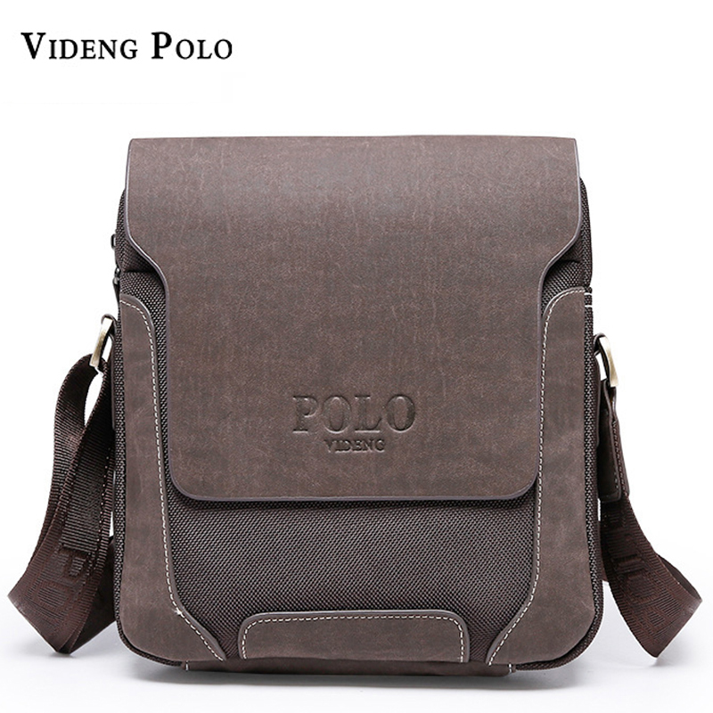 2017 Casual Oxford Patchwork PU Leather Men Bags,Leisure Breathable vintage Business Men's Messenger Bag Man Shoulder Bags