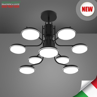 Italy Brand Magnifica Luce Post Modern Simplicity Chandeliers 4X6W M 2017B