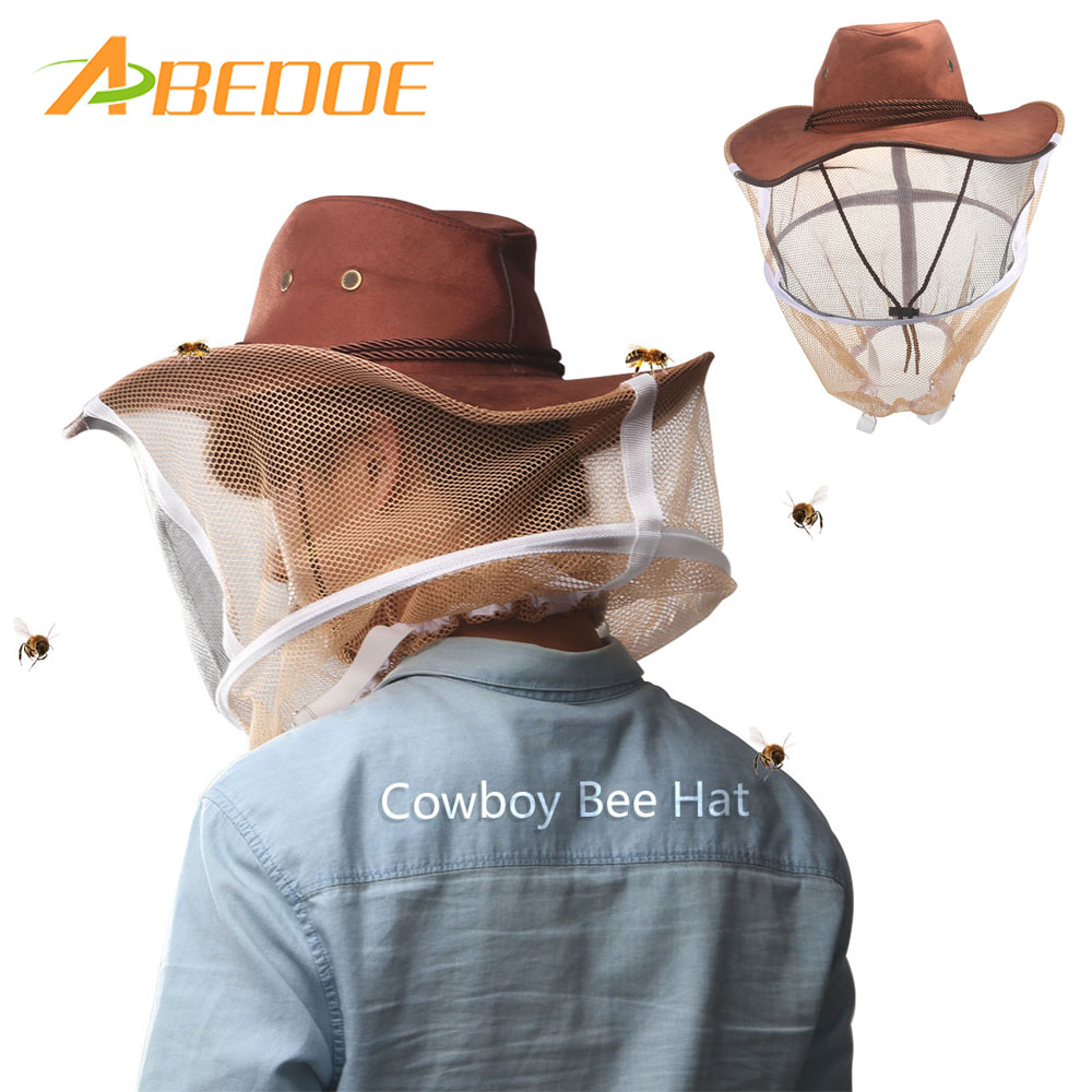 Garden Supplies Beekeeping Supplies Professional Beekeeping Hat Beekeeper Anti-bite Full Face Hat Neck Wrap Protector Net Outdoor Anti-mosquito Mask Cap Outstanding Features