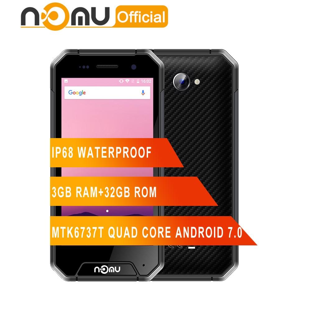NOMU S30 mini IP68 Waterproof Smartphone MTK6737T 1 5GHz Quad Core Android 7 0 3GB 32GB