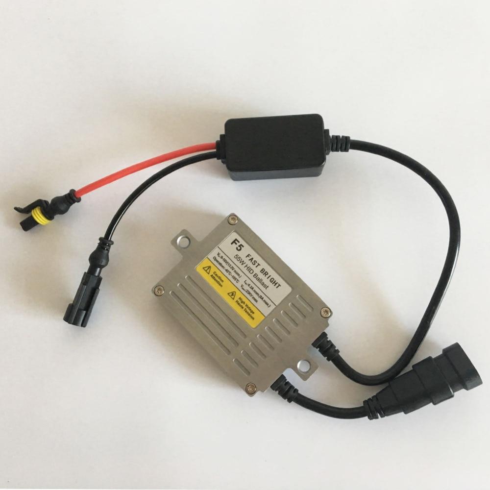 Швидкий яскравий комплект HID AC 55W H7 - Автомобільні фари - фото 3