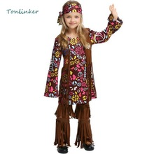 Halloween Savage Aboriginal Cosplay Children Carnival Party Girls Clothes African Primitive Savage Cosplay Costume платье savage savage sa004ewvjv96