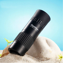 Hot selling 10-100X All-optical pocket zoom HD Monocular Telescope SP04 binoculars with FMC green film For Travel