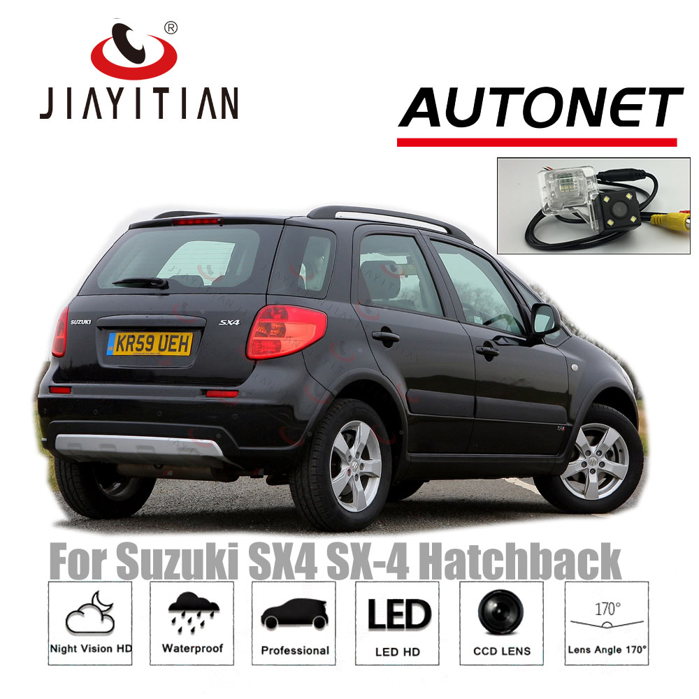 JIAYITIAN Rear Camera For <font><b>Suzuki</b></font> <font><b>SX4</b></font> SX-4 Hatchback MK1 2009 2010 2011 <font><b>2012</b></font> CCD Night Vision License Plate camera buckup camera image