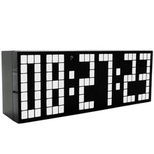 Upgrade LED Alarm Clock despertador Show Temperature Calendar LED display electronic desktop Digital table or wall