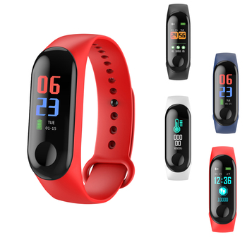 Hot sale Smart Sports Men Women Bracelet Heart Rate Sleep Monitoring Pedometer Waterproof Watch Men And Women Bluetooth bracelet
