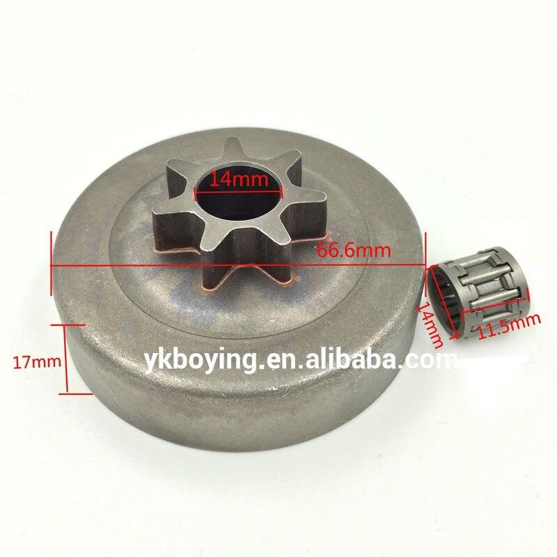 Муфта зубчатого колеса барабана W/комплект подшипников подходит для HUSQVARNA 36 41 136 137 141 142 запчасти бензопилы
