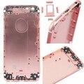 Полный корпус задняя выглядит 6 S розового золота на замену для iPhone 6 4.7 дюймов крышка батарейного отсека ближний металлический каркас вернуться корпус