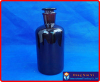 1000ml Narrow mouth Amber Laboratory Bottle with ground in glass stopper,1000ml Narrow mouth reagent bottle