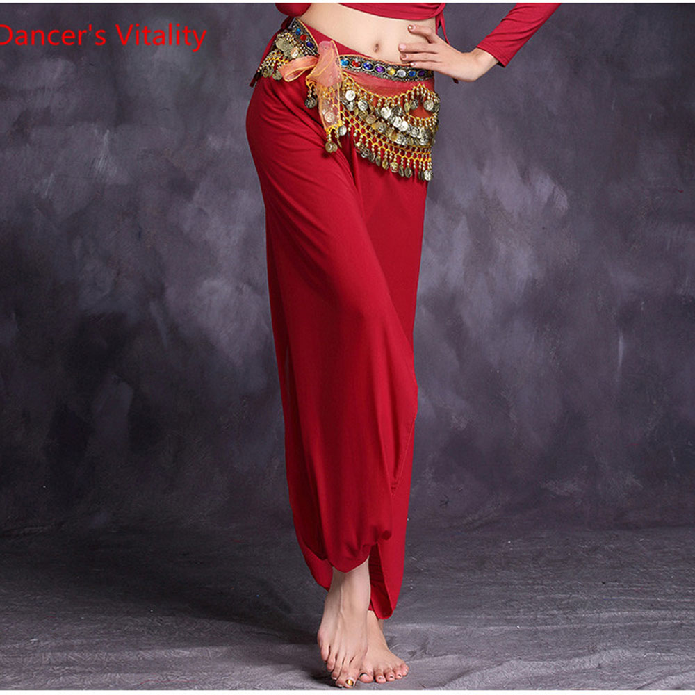 High Quality New Bellydancing Trousers Belly Dance Skirt Costume Training Dress Or Belly Dance Performance Long Pants