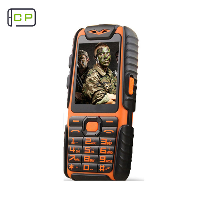 Guophone A6 Mobile Phone Daily Waterproof shockproof Dual Sim 2.4