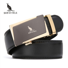 2017 new Brand fashion men's belts for men real leather Belt