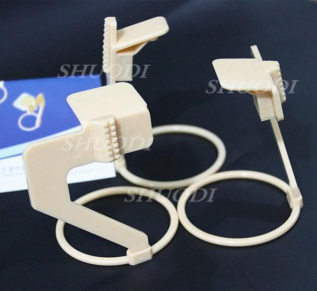 1 Unidades (3 piezas) uso Dental rayos X Sensor de película posicionador titular de plástico (sólo para la película de rayos X)