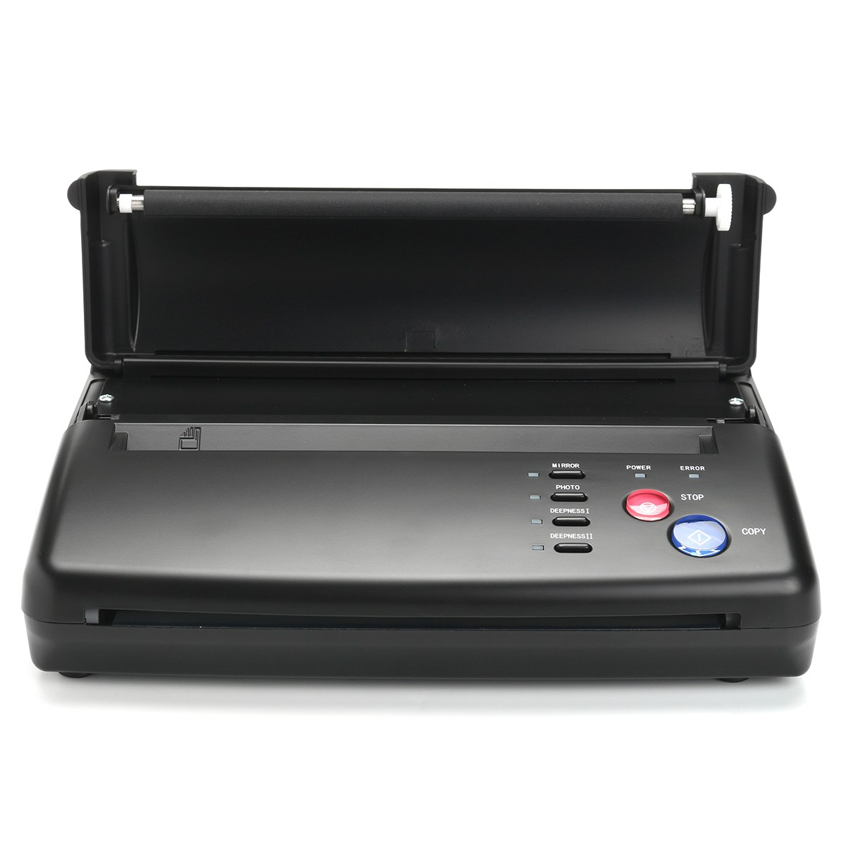 Tattoo Transfer Machine Printer Drawing Thermal Stencil Maker Copier Permanet makeup Supply With 10PCS A4 Transfer Papers цены