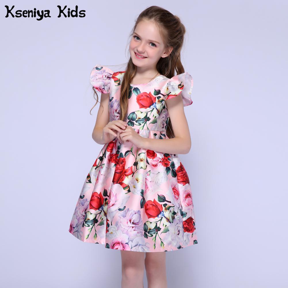 JIEEN Toddler Baby Girls Sundress Set Floral Skirt Long Sleeve Cardigan