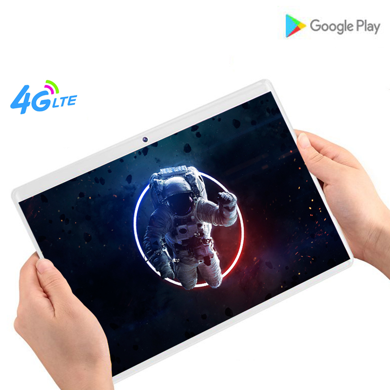 10.1 Inch Tablet Pc Android 8.0 Octa Core Ram 6GB ROM 64GB Dual SIM Card 3G/4G FDD LTE WIFI 10' Tablets 1280*800 IPS 2.5D Glass
