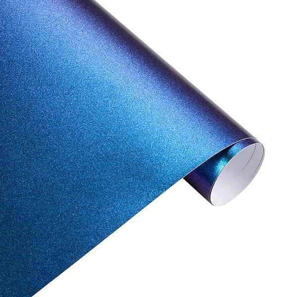 10*100 см Автомобильная синяя до фиолетовая жемчужная виниловая пленка с эффектом Хамелеона, пленка хамелеон, наклейки для автомобилей, автомобилей, мотоциклов, стайлинга автомобилей, Decaration - Название цвета: Matt