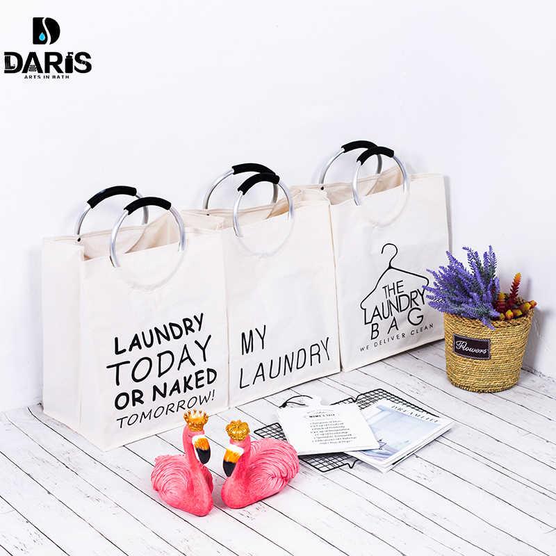 SDARISB الأسرة لطي المحمولة الحمام سلة الغسيل حقيبة التخزين القذرة تعرقل كبيرة قماش منتجات لغسيل الملابس
