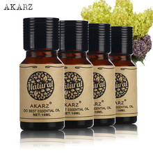 AKARZ Helichrysum Frangipani Verbena defne uçucu yağ için aromaterapi, masaj, Spa, banyosu 10ml * 4