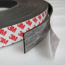 1 метр 3 м резиновый магнит 30*2 мм самоклеющиеся гибкие магнитные полосы резиновая магнитная лента ширина 30 мм толщина 2 мм 30 мм x 2 мм