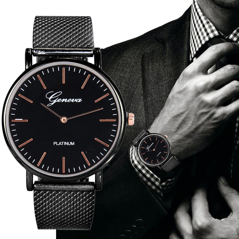 Luxury Stainless Beautiful Men Business Quartz Watch 2021