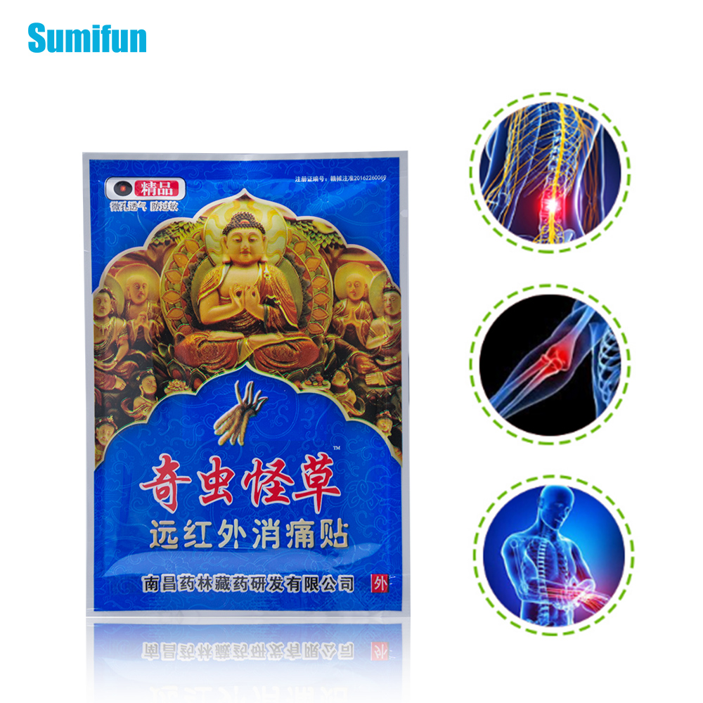 8pcs Relaxing Backache Massage Plaster Chinese Pain Relief Plaster Flexible Pain Relieving Patch massage health C1477 sumifun buy 3 get 1 chinese medical plaster muscle rthritis adhesive rheumatism pain plaster relieving patch health care d1023