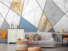 large size 3D Imitation marble mural TV background wall canvas wallpaper Living room bedroom covering custom made