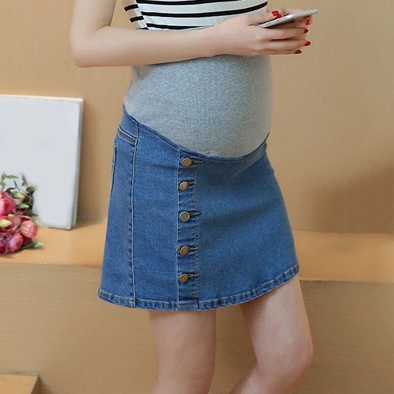 Popular Denim Skirt Maternity-Buy Cheap Denim Skirt Maternity lots ...