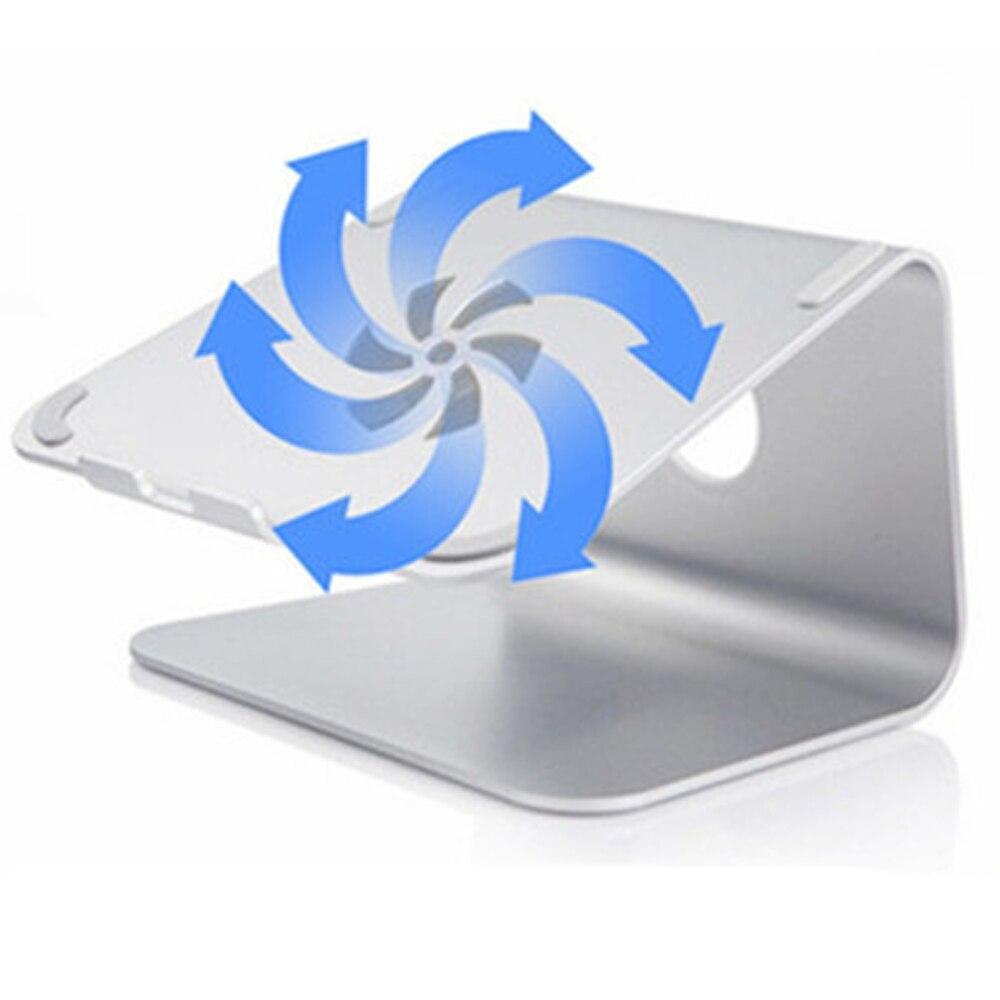 Aluminum Alloy Laptop Cooling Holder Desktop Ergonomics Heighten Notebook Support for MacBook Air Pro Stand Tablet phone holderAluminum Alloy Laptop Cooling Holder Desktop Ergonomics Heighten Notebook Support for MacBook Air Pro Stand Tablet phone holder