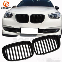 POSSBAY High Quality Front Bumper Kidney Grilles Racing Grills For BMW 5 Series F07 Gran Turismo 2009/2010 2013 Pre facelift