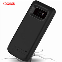 Kogngu New Battery Charger Case for Huawei P20/P20 Pro 6500mah Back Clip Battery Wireless Fast Charger For Huawei P20 Lite