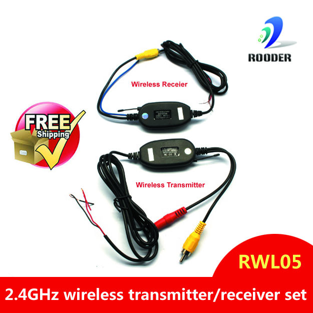 100% brand new High quality backup system Wireless car rearview system RWL05