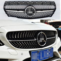 W117 diamond radiator front grills grille mesh for Mercedes benz CLA CLA180 CLA200 2013 2014 2015