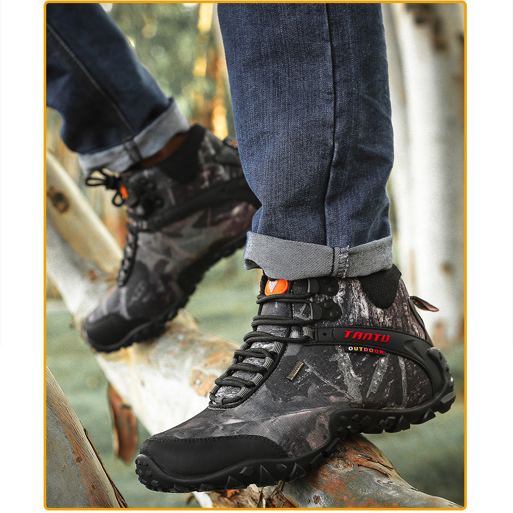 Outdoor Camouflage Tactical Sport Men\`s Shoes (13)