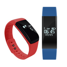 FancyQbue Smart Wristband LED Watch Waterproof Fitness Sleep Tracker Alarm Pedometer Calorie Bluetooth For Android IOS