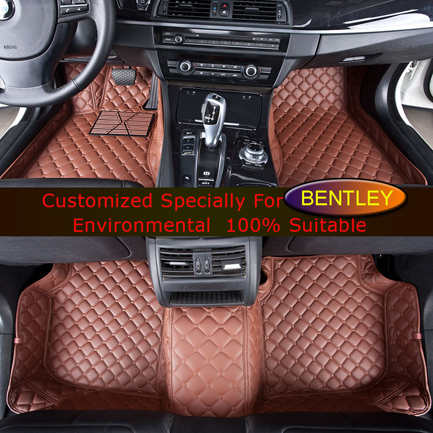 For Bentley Continental GT Flying Spur Car Floor Mats